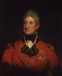 Sir Thomas Picton, never a man touched by genius like Hill, but the best combat General in the army, Quatre Bras was a battle perfectly suited to his talents.