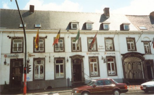 The Inn at Waterloo where Wellington had his headquarters the night before the Battle.