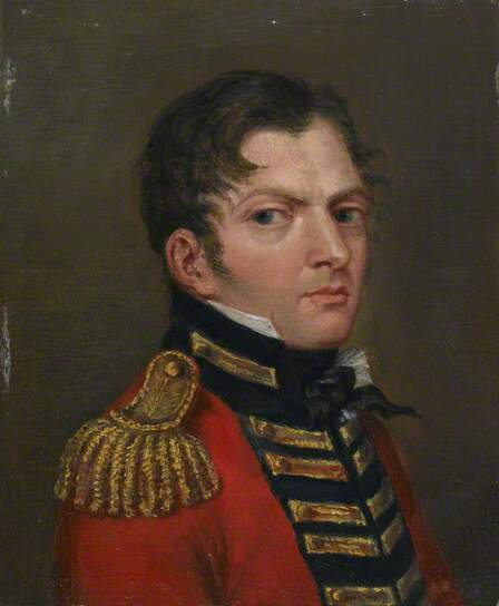 Captain Augustus Hartmann, 2nd Line Battalion, King's German Legion by Paul Dumortier. The face of a man Brandt served with.