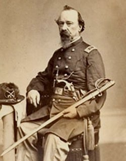 Joseph Archambault Imperial groom, pictured in 1862 as a Major in the 2nd Pennsylvania Cavalry.