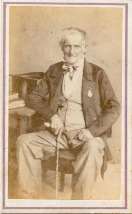 Jean Charles Duboz, 6e Hussads, Mont St Jean.