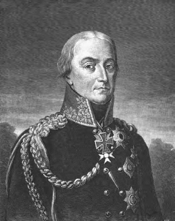 General Bülow, Graf von Dennewitz.