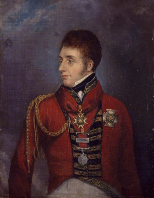 General Sir William Ponsonby. Commander of the Union Brigade.
