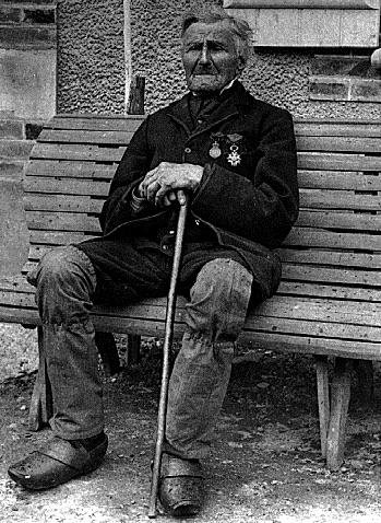 Luis Victor Baillot 105e Ligne. Last known survivor of Mont St Jean.