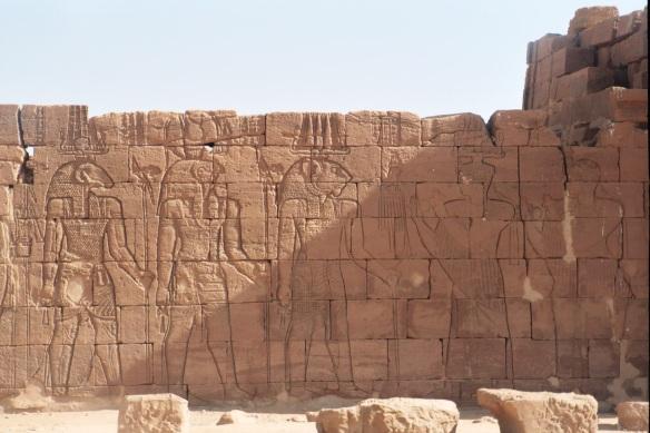 Temple of Apademak at Naqa.