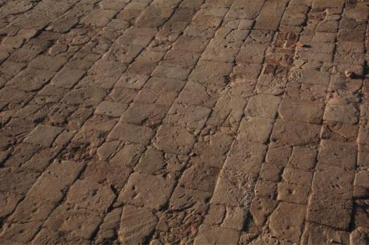A fine stone floor from Dangeil.