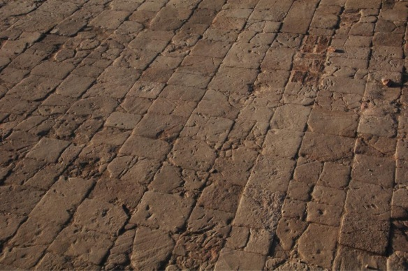 A fine stone floor from Dangeil.