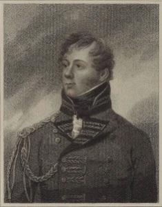 """The Bravest man in the British Army"" Rollo Gillespie."