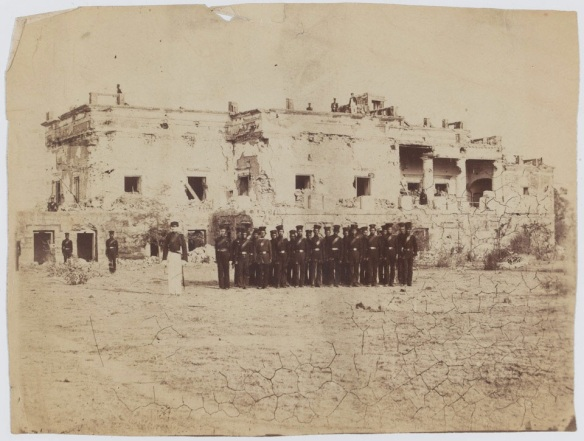 Sirmoor Battalion (later 2nd Gurkha Rifles) Hindu Rao House.
