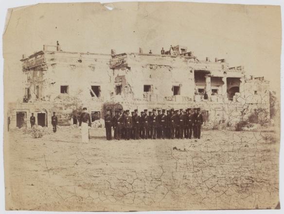 Sirmoor Battalion (later 2nd Gurkha Rifles) Hindu Rao House.