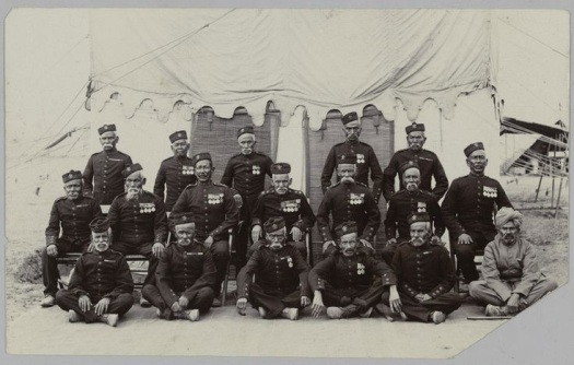 """Veterans of the 2nd Gurkha Rifles who served during the """"Indian Mutiny"""""""