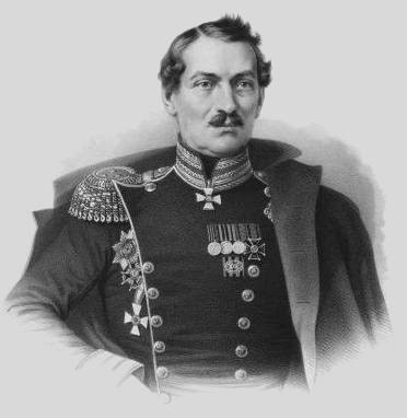 "General Liprandi commanded the Russian ""detatchement"" sent to attack Balaclava."