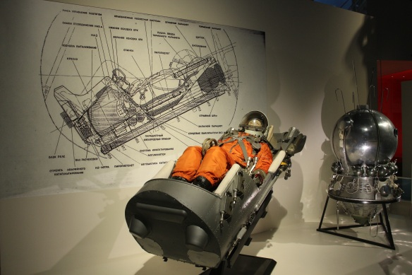 Vostok 1 Ejection seat