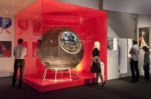 Is it a meatball? Is it a fish tank? No, it's Vostok 6.