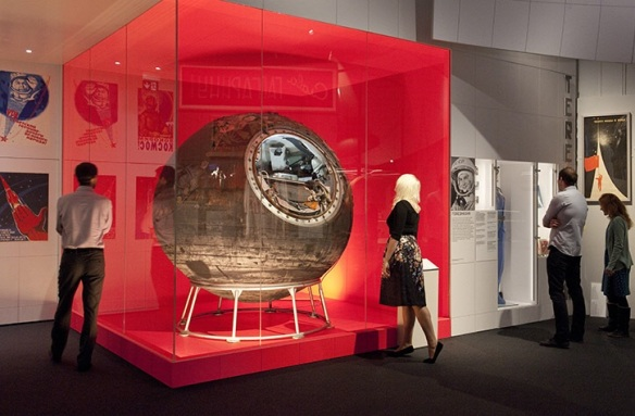 Is it a meatball? Is it a fish tank? No, it's Vostok 6.