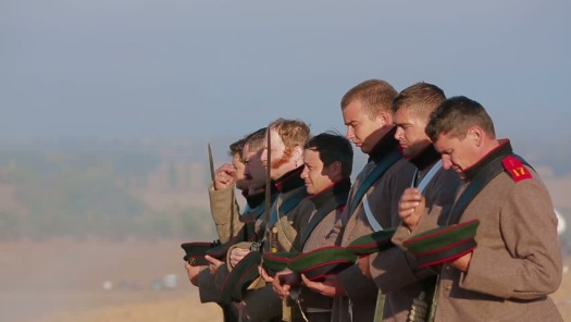 The Russian army was deeply Orthodox and believed their cause was holy.