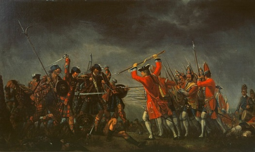 Culloden by Morier.