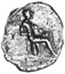 A recently reevaluated coin that has been identified as representing Caratacus, he does share a certain resemblance with the other coin.
