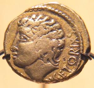 Hellenistic depiction of Vercingetorix.
