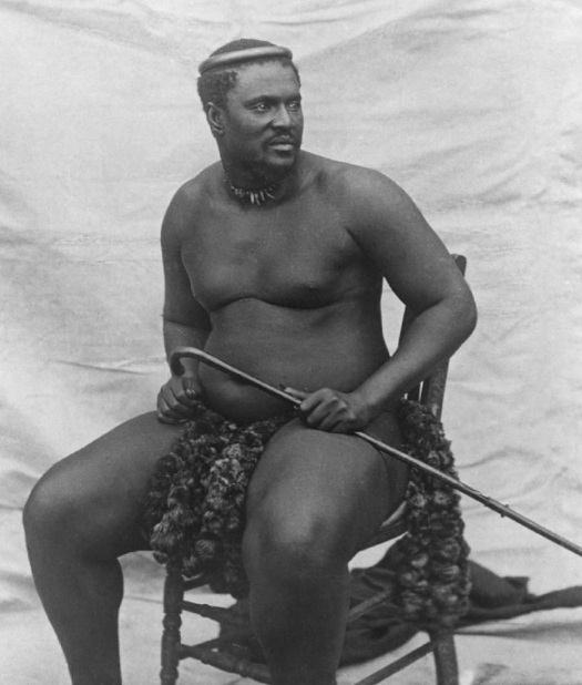 King Cetshwayo kaMapande in 1878.