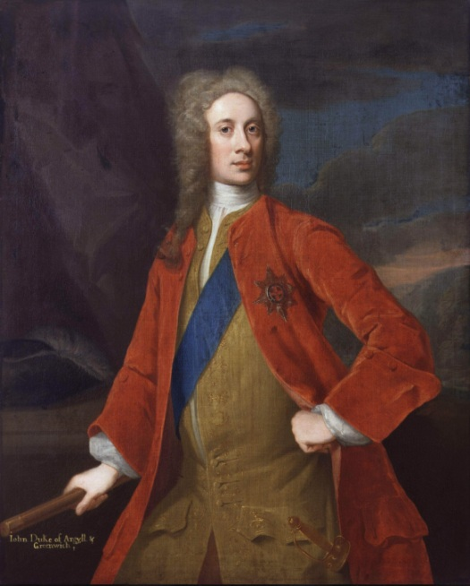 Duke of Argyll, Kings Commander in Chief in Scotland.