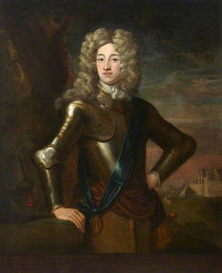 The Earl of Mar, a slippery politician, who had never been in battle before.