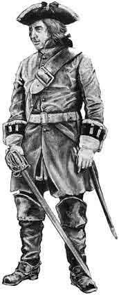 An officer of a British a Dragoon Regiment.