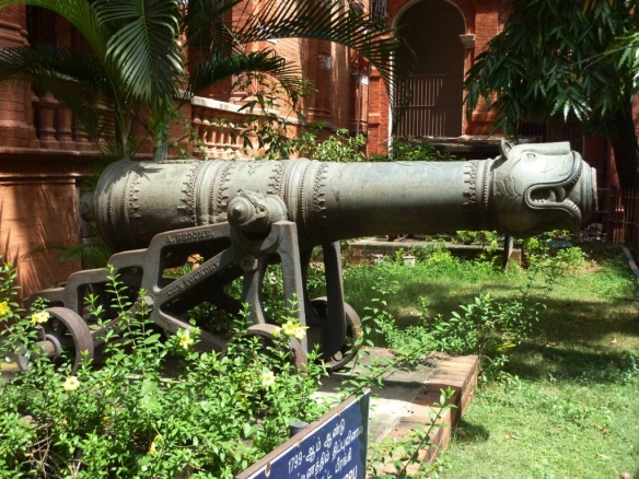 One of Tipu's 100 bronze guns.