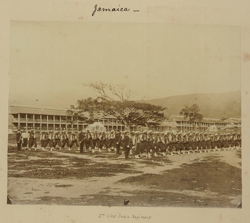 3rd West India Regiment in Jamaica.