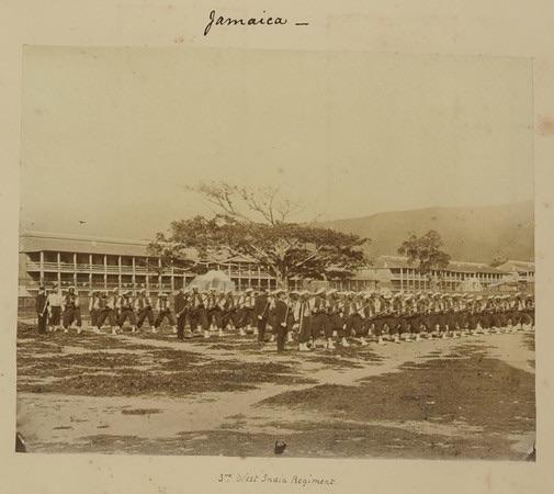 3rd West India Regiment in Jamaica.