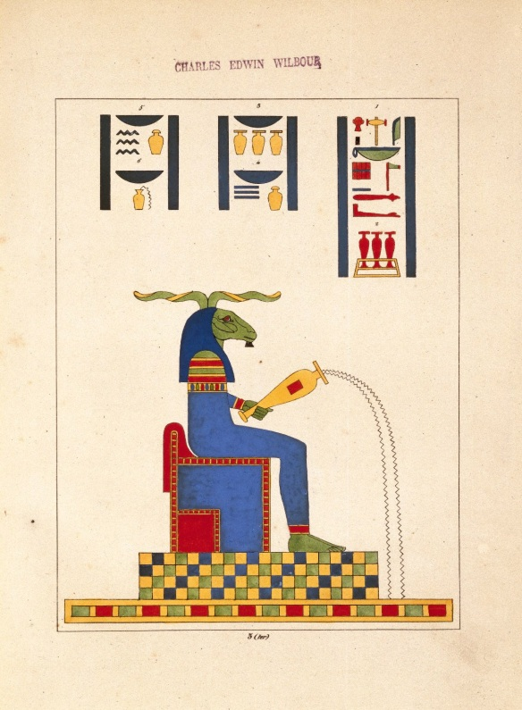 Khnum, Ancient Egyptian deity of creation and the waters. Guardian of the Nile's source who sculpted babies from its rich clay enriching inundations.