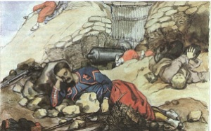 French and Russian Dead, by Cadogan.