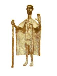 Nuragic chief figurine. Wikipedia.