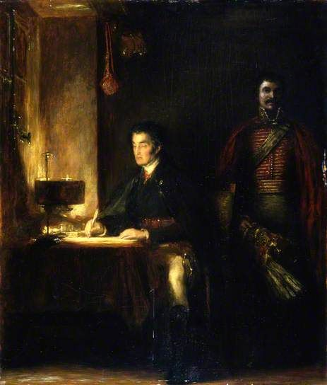 Waterloo Dispatch, Wilkie, (c) Aberdeen Art Gallery & Museums; Supplied by The Public Catalogue Foundation
