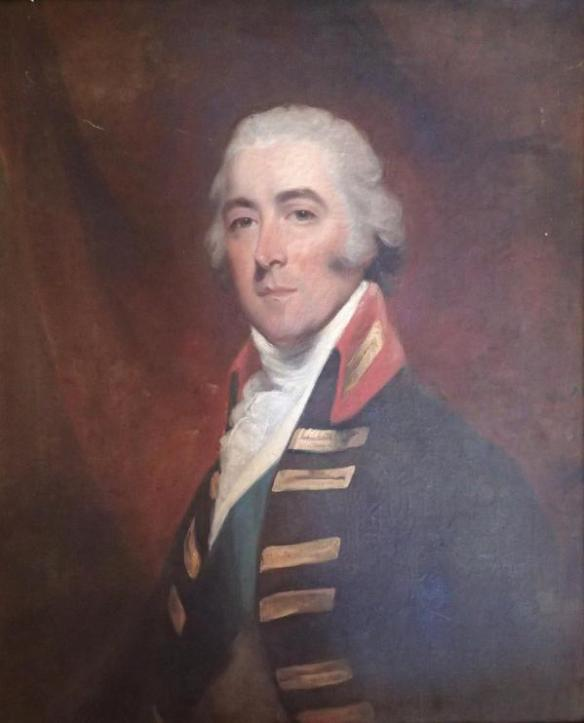 John Pitt, 2nd Earl of Chatham (studio of John Hoppner) (Courtesy of the Royal Marines Commando Forces, Stonehouse Barracks)]