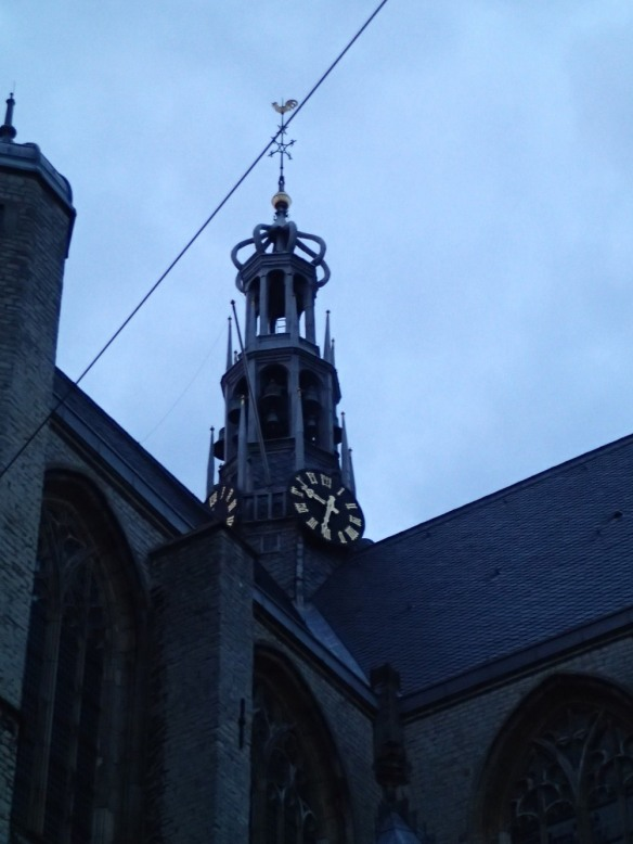 St Laurence's Church tower, Alkmaar; photograph by Jacqueline Reiter